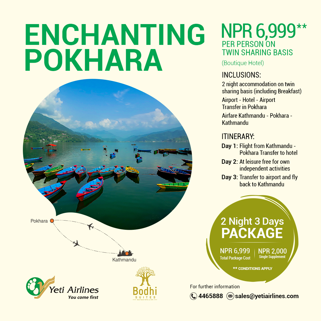 Enchanting Pokhara - Boutique Hotel