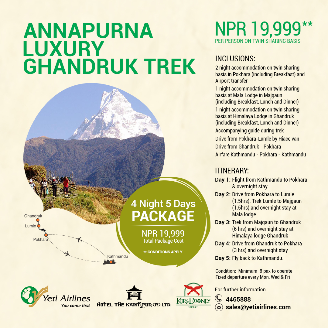 Annapurna Luxury Ghandruk Trek